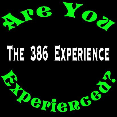 The 386 Experience Logo